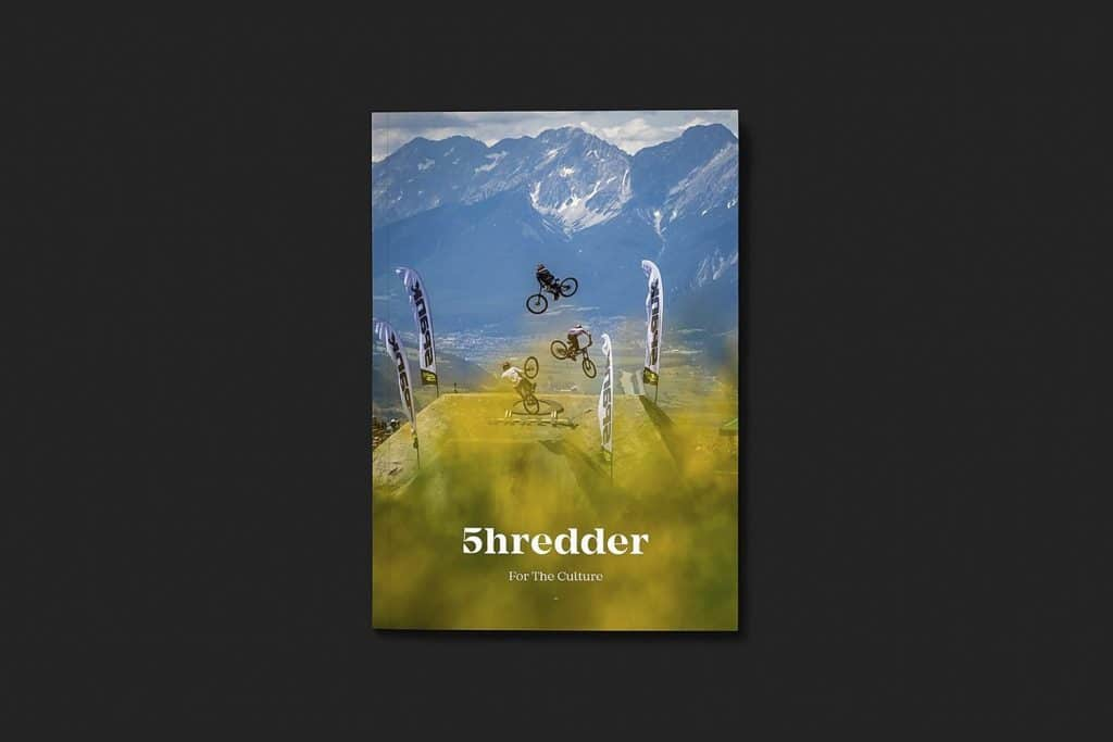 Shredder mountain bike magazine