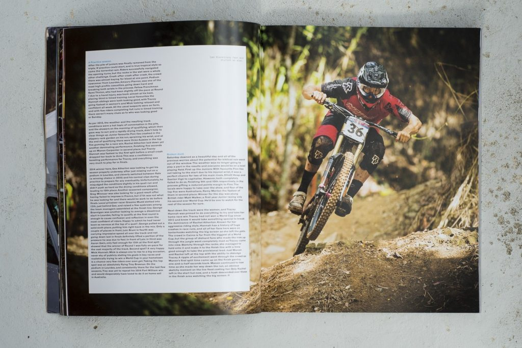 downhill MTB World Cup book