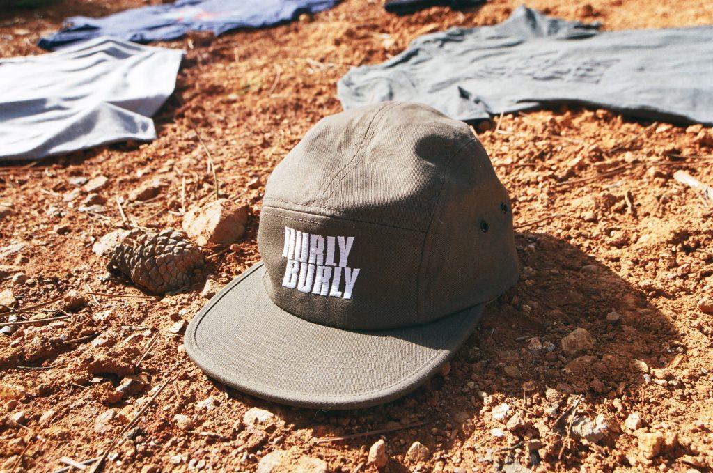 Hurly Burly downhill yearbook five panel cap (2)