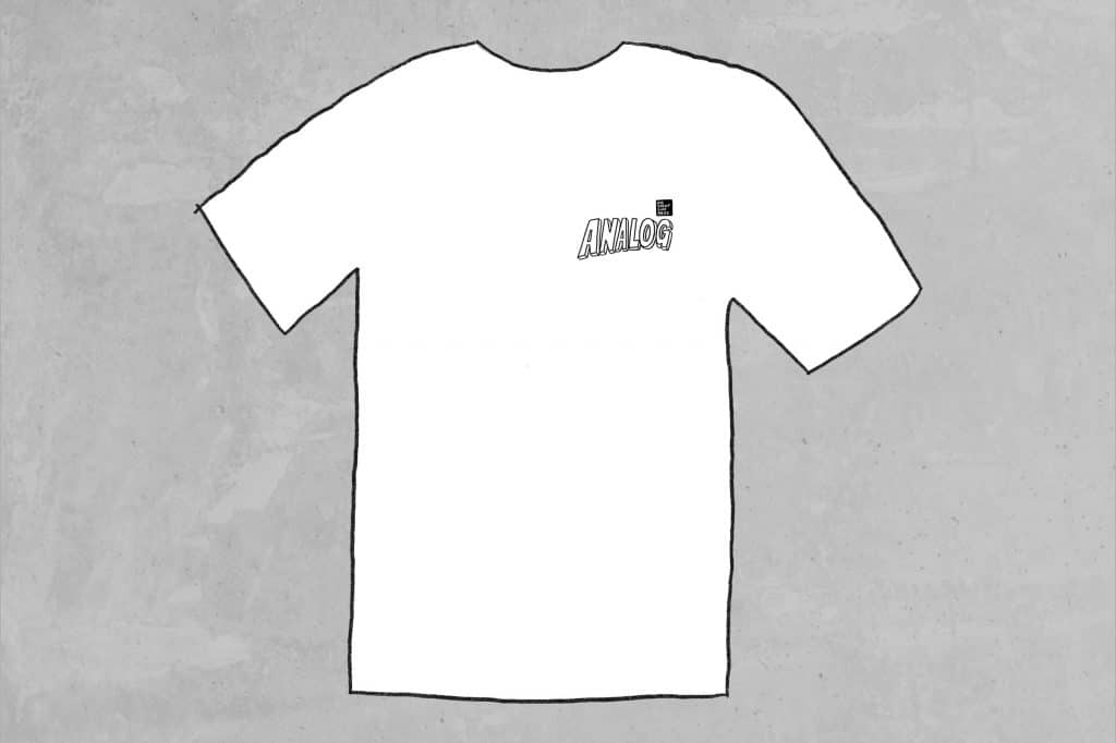 Analog Tee - The free mtb zine