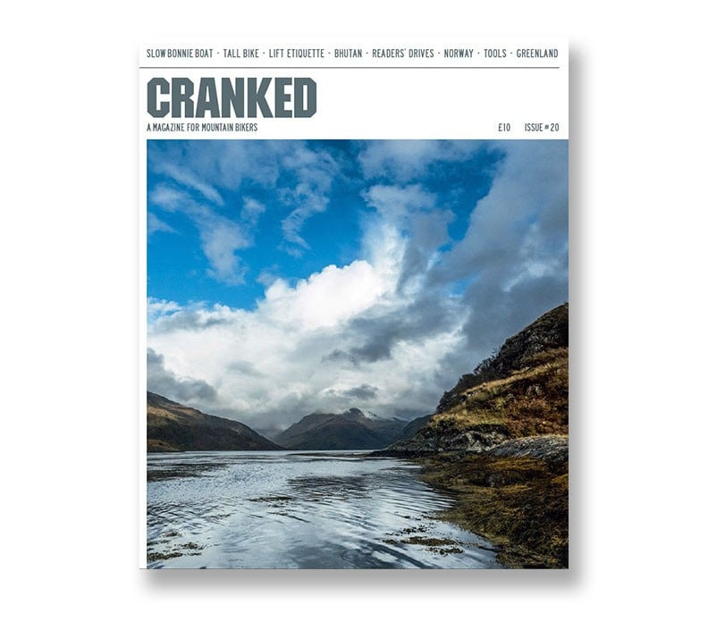 Cranked MTB bike magazine