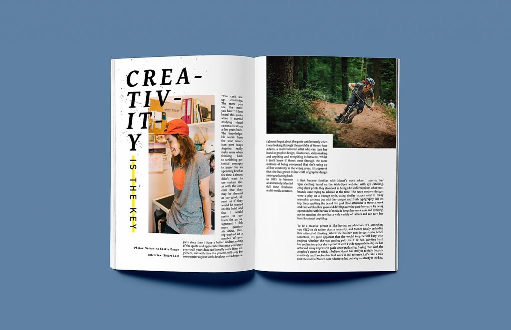 Shredder MTB mountain bike zine