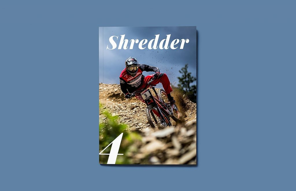 mountain bike magazine UK shredder