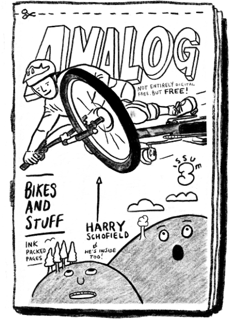 Analog MTB zine issue 3 Harry Schofield