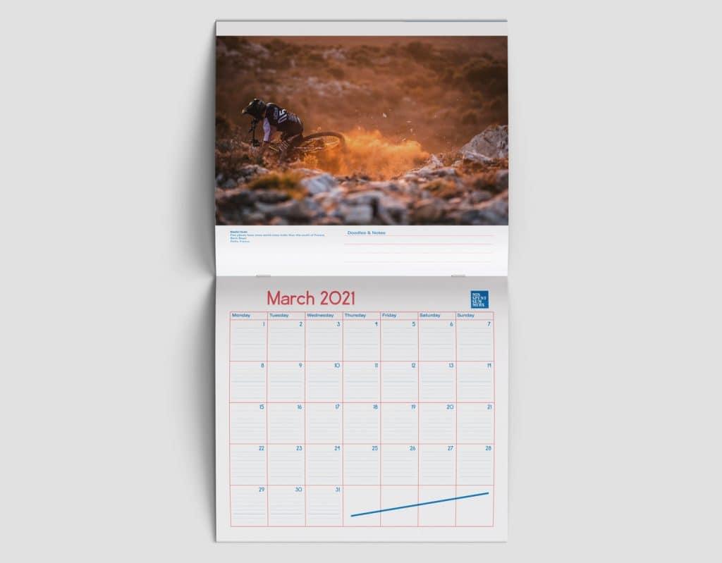 2021 Mountain Bike Calendar