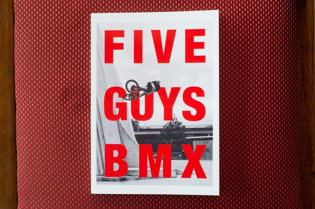 Five Guys BMX zine New Zealand